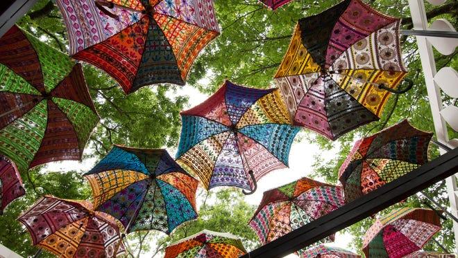 """Monsoon Pavilion"" designed by Rachel DeBacker Architecture."