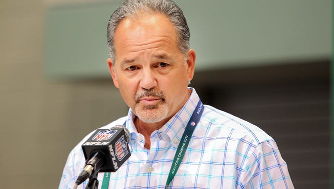 Colts coach Chuck Pagano's comment about the Atlanta Falcons' defense, plus a new general manager with no ties to anyone on the roster, suggest a top-down reset on defense is coming.