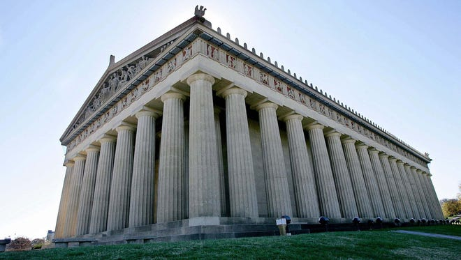 The Parthenon will be lit up blue in honor of World Neurofibromatosis Awareness Day on Wednesday.