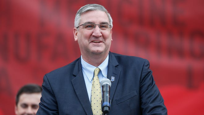 Indiana Gov. Eric Holcomb said he wants to tweak Indiana's alternative Medicaid program to require some recipients to work.