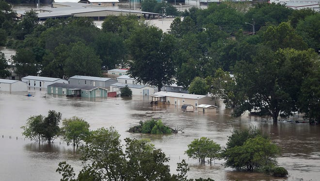 Widespread flooding because of Hurricane Harvey has forced several sporting events to change venues.