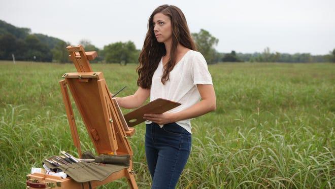 Nashville painter Megan Lightell captures protected Tennessee lands.