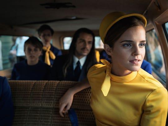 """Lena (Emma Watson) works as a flight attendant in """"Colonia."""""""