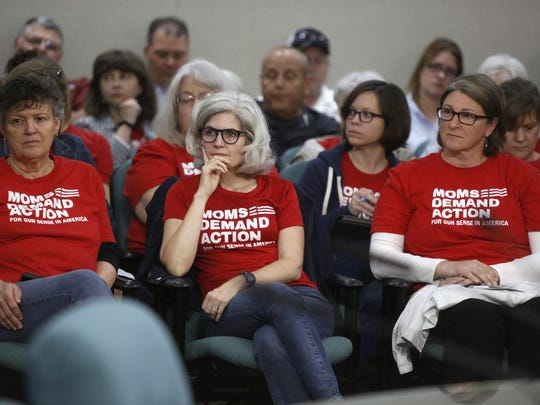 Moms Demand Action is opposed to the proposal to arm teachers and is prepared to spend the spring session fighting the idea.