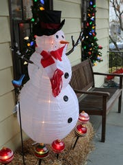 Keansburg Police are telling residents to secure outdoor holiday lawn ornaments and decorations.