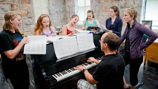 WCU's Triple Arts program has campers learning from Broadway veterans.