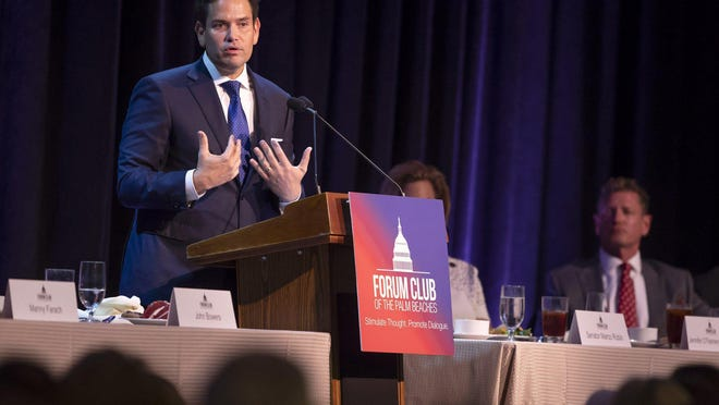 Sen. Marco Rubio (R-Fla.), shown in a file image from Aug 21, 2019,  fired a shot at Obamacare and hit consumers instead. Now the Supreme Court has said he was wrong all the way.