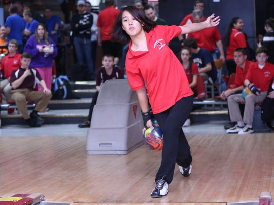 Senior Danielle Quitola anchored Ridgefield Park to its third straight Big North American Division girls bowling title this winter.