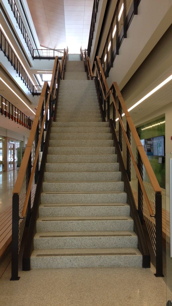 Golisano Institute for Sustainability stairs