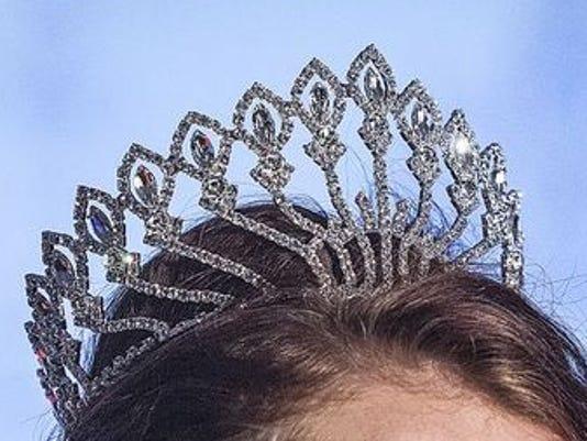 Delaware County Fair queen crown