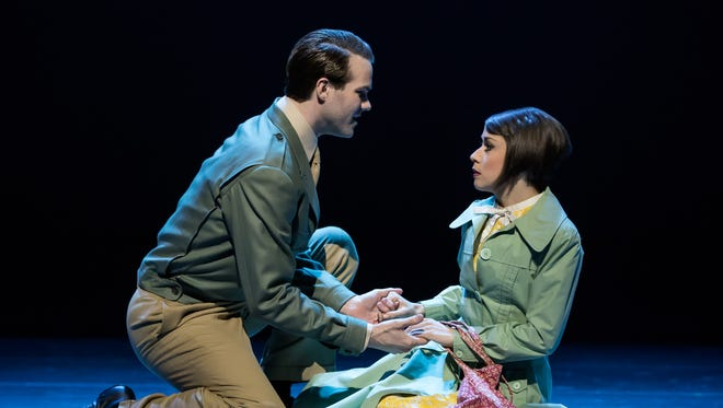 """McGee Maddox and Sara Esty in """"An American in Paris"""" at TPAC."""