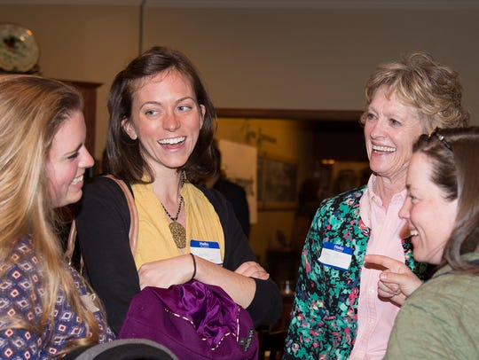 Conversations held at Young Professional Week event,