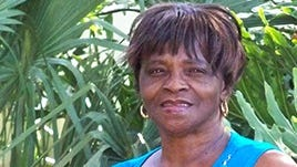 Patricia Henderson was able to get her roof fixed before Hurricane Irma came to town.