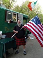 Sam Bracken owns the Celtic Pig food truck in Louisville.