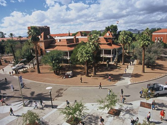 The University of Arizona campus in Tucson.