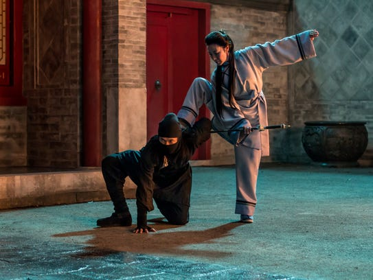 Michelle Yeoh shows what she can do in 'Crouching Tiger,