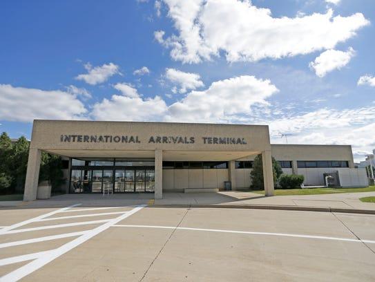 The International Arrivals Terminal at Mitchell International