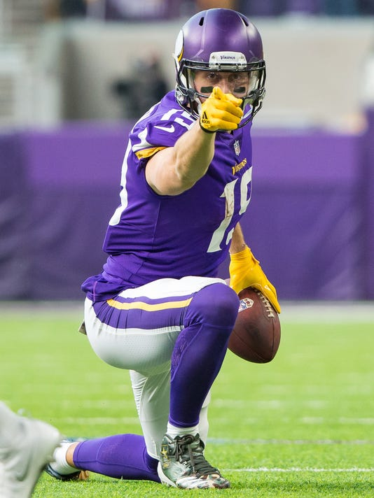 bd27dcaba Minnesota s Adam Thielen is Vikings newest receiving star
