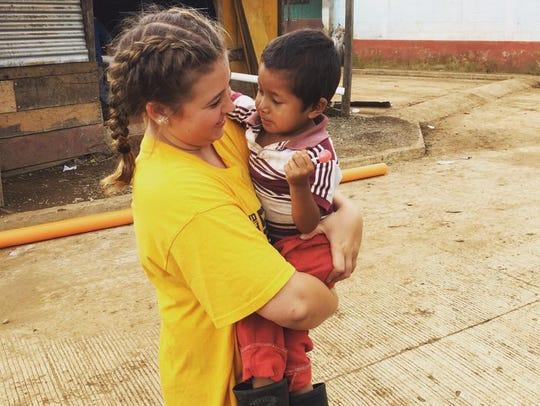 Amber Mann recently visited Guatemala for a mission