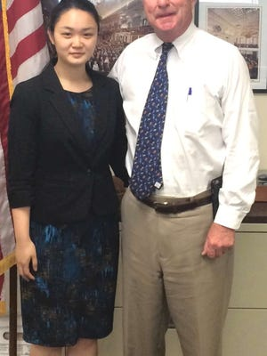 Shannon Sun interned with U.S. Rep. Rodney Frelinghuysen.