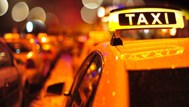 Use a taxi service or ride app to get home on New Year's Eve in the Salem area.