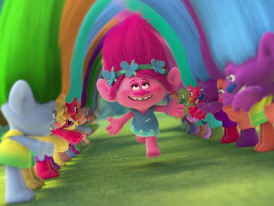"""Trolls"" features the voice of Anna Kendrick."