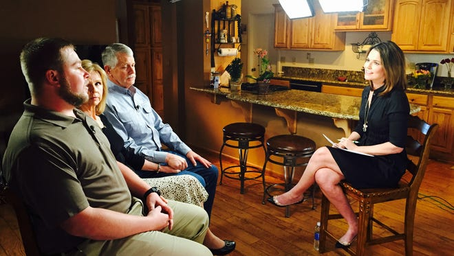 NBC's Savannah Guthrie talks to the family of Kayla Mueller, the 26-year-old Prescott native who was killed while being held hostage by ISIS.