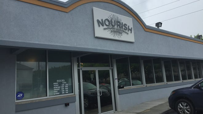 Tucked between General American Donut Co. and Bosphorus Istanbul Cafe in Fletcher Place, Nourish, 931 S. East St. shuttered immediately after dinner service, Nourish, 931 S. East St. shuttered immediately after dinner service Sept. 8.