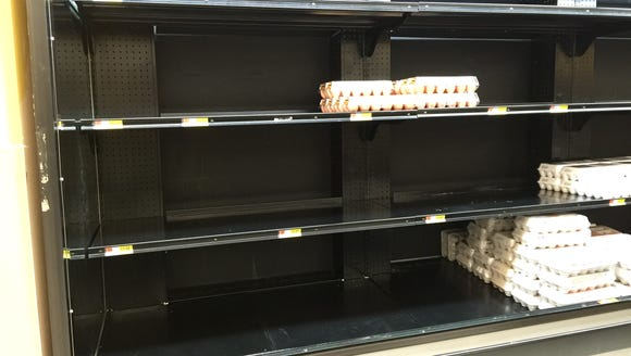Egg supplies are dwindling in Staunton.