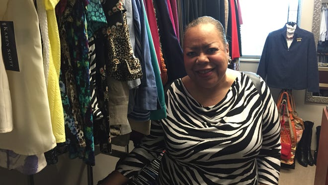 MTSU College of Education adviser June Adams opened the Clothing Our Educators Boutique on campus in March.
