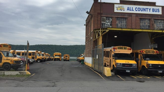 A heliport is proposed for 70 Fernbrook St. in Yonkers, which is currently occupied by All County Bus.