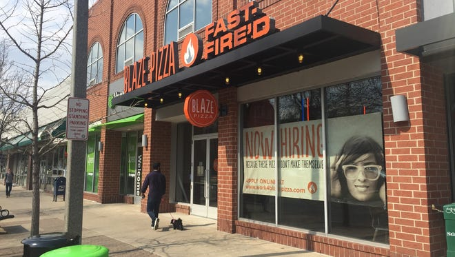 Blaze Pizza opens Monday in downtown East Lansing at 437 E. Grand River Ave.