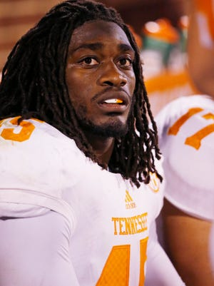 Tennessee linebacker A.J. Johnson has been suspended amid a sexual assault investigation.