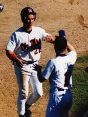 David Delluci, who played under Yogi Berra for a time, was a standout at the University of Mississippi from 1992 to 1995.