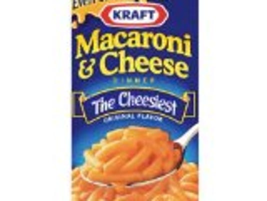 More than 50,000 people have signed a petition to Kraft, asking the company to remove Yellow 5 and Yellow 6 from its macaroni and cheese. A report says the dyes might cause hyperactivity in children, migraines and allergies. Photo by Amazon.com.