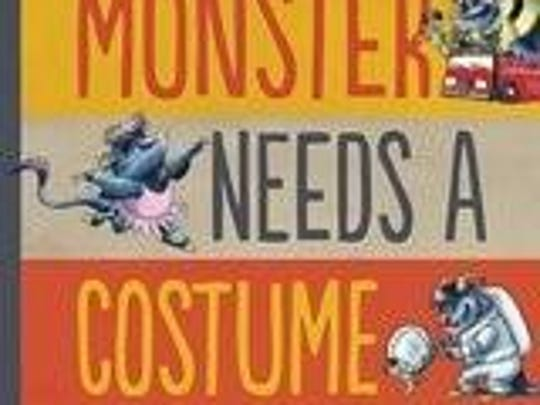 """""""Monster Needs a Costume"""" by Paul Czajak, illustrated by Wendy Grieb"""