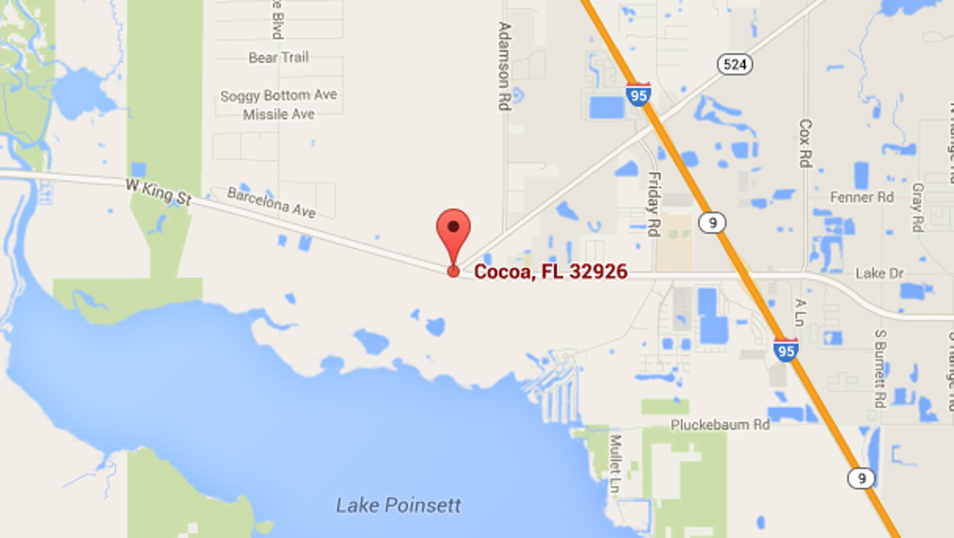 Cocoa Florida Map.Victim Identified In Fatal Motorcycle Crash In Cocoa