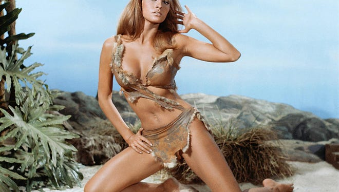 """The prehistoric pulchritude of Raquel Welch in """"One Million Years B.C,"""""""