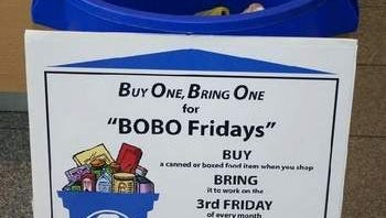 "Look for the blue ""BOBO Fridays"" bins at county, municipal and library locations around Somerset County."