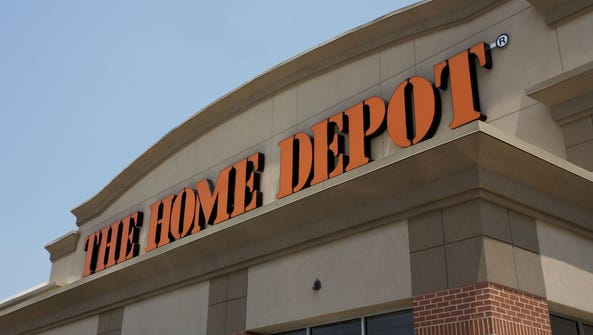 Exterior of a Home Depot store in Georgia. The company