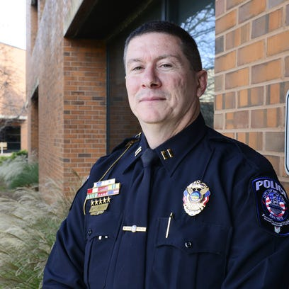 Capt. Jeffrey Matter with Bellevue Police Department.