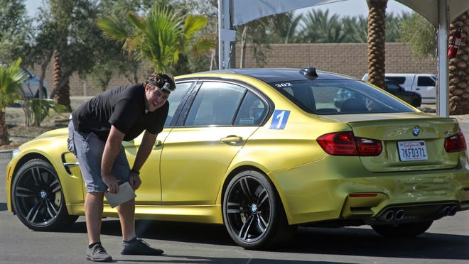 Desert Sun reporter Everett Cook was among the participants and test drove four BMW models, Tuesday, July 7, 2015, at the BMW Performance Center in Thermal. They included a M4, M5, X5 and X6.
