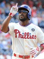 Jimmy Rollins' fundraising efforts have raised more