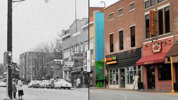 Then & Now: Chauncey Village, 1956