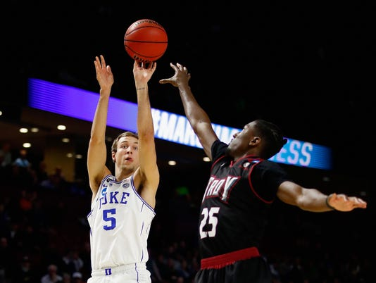 NCAA Basketball Tournament - First Round - Troy v Duke