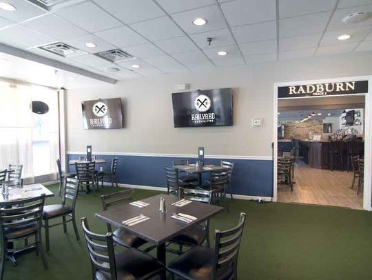 Sports room at The Railyard