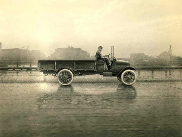 Chevy trucks celebrate 100 years shaping how Americans work and travel