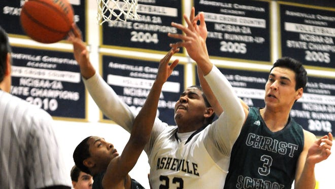 Christ School is the first-place boys basketball team in the Carolinas Athletic Association.