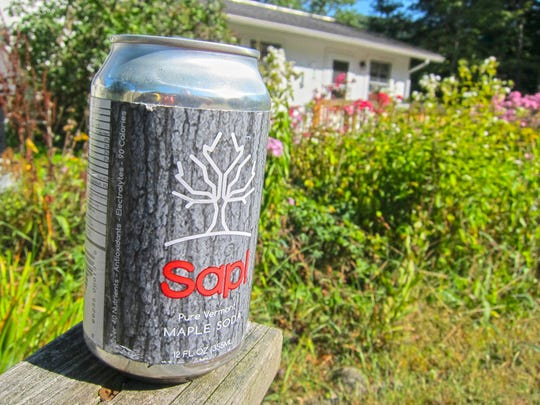 Sap! is made from maple tree sap, boiled to levels of sugar concentration much lower than maple syrup.