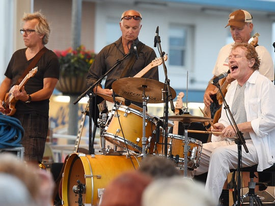 The Funsters will perform at the Rehoboth Beach Bandstand at 8 p.m. Sunday with the town's fireworks set to start at 9:15 p.m.